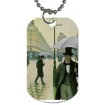 RainyParis Dog Tag (One Side)