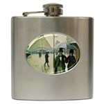 RainyParis Hip Flask (6 oz)