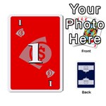 Trail to the White House - 1/2 - Playing Cards 54 Designs