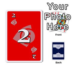 Trail To The White House   1/2 By Beowulf   Playing Cards 54 Designs (rectangle)   V65skll6y7jm   Www Artscow Com Front - Spade3