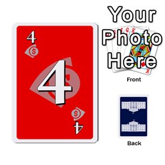 Trail To The White House   1/2 By Beowulf   Playing Cards 54 Designs (rectangle)   V65skll6y7jm   Www Artscow Com Front - Spade5