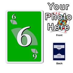Trail To The White House   1/2 By Beowulf   Playing Cards 54 Designs (rectangle)   V65skll6y7jm   Www Artscow Com Front - Diamond7