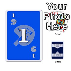 Trail To The White House   1/2 By Beowulf   Playing Cards 54 Designs (rectangle)   V65skll6y7jm   Www Artscow Com Front - Club2