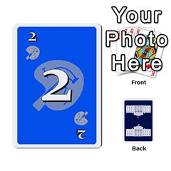 Trail To The White House   1/2 By Beowulf   Playing Cards 54 Designs (rectangle)   V65skll6y7jm   Www Artscow Com Front - Club3