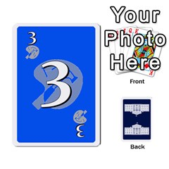 Trail To The White House   1/2 By Beowulf   Playing Cards 54 Designs (rectangle)   V65skll6y7jm   Www Artscow Com Front - Club4