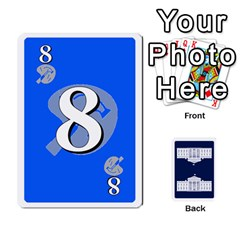 Trail To The White House   1/2 By Beowulf   Playing Cards 54 Designs (rectangle)   V65skll6y7jm   Www Artscow Com Front - Club9