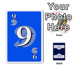 Trail To The White House   1/2 By Beowulf   Playing Cards 54 Designs (rectangle)   V65skll6y7jm   Www Artscow Com Front - Club10