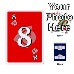 Trail To The White House   1/2 By Beowulf   Playing Cards 54 Designs (rectangle)   V65skll6y7jm   Www Artscow Com Front - Spade9