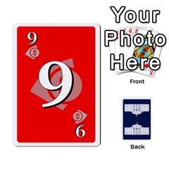 Trail To The White House   1/2 By Beowulf   Playing Cards 54 Designs (rectangle)   V65skll6y7jm   Www Artscow Com Front - Spade10