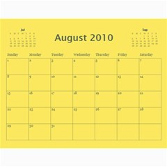 2010 Calender Landscapes By Kim Sullivan   Wall Calendar 11  X 8 5  (12 Months)   3dk56u2eht3f   Www Artscow Com Aug 2010