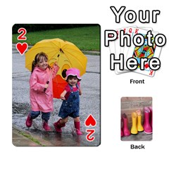 Rainyday Playing Cards By Lily Hamilton   Playing Cards 54 Designs   Taukd9lu3oq5   Www Artscow Com Front - Heart2