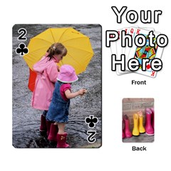 Rainyday Playing Cards By Lily Hamilton   Playing Cards 54 Designs   Taukd9lu3oq5   Www Artscow Com Front - Club2