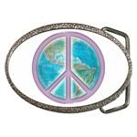 Peace Belt Buckle