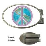Peace Money Clip (Oval)