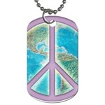 Peace Dog Tag (Two Sides)