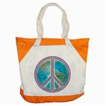 Peace Accent Tote Bag