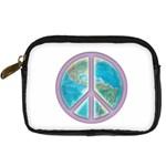 Peace Digital Camera Leather Case