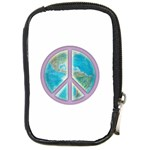 Peace Compact Camera Leather Case
