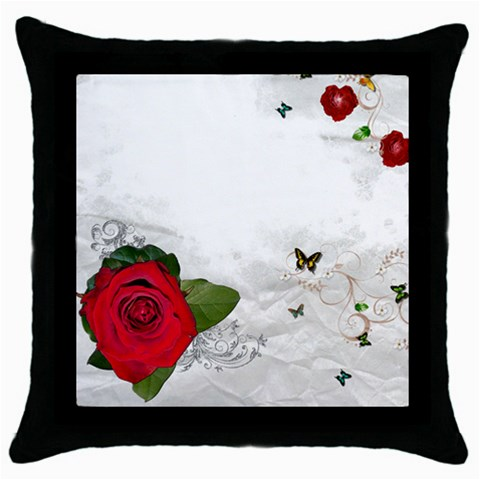 Mojo8 By Scrapmojo   Throw Pillow Case (black)   Zoxxa2hrkg90   Www Artscow Com Front