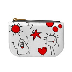 Monedero Garabatos By Carol   Mini Coin Purse   Yholgjur10as   Www Artscow Com Front