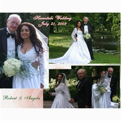 Robert & Angela Wedding Posters By Angela S A  Jainandunsing   Collage 11  X 14    Kyopkpn34owm   Www Artscow Com 14 x11 Print - 3