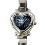 Spiderman Heart Italian Charm Watch