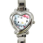 Hello Kitty Heart Italian Charm Watch