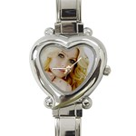Avril Lavigne Heart Italian Charm Watch