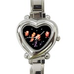 Metallica Heart Italian Charm Watch