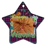 wasi-tag - Ornament (Star)