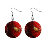 Spiderman 1  Button Earrings