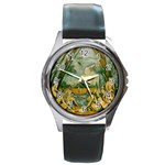 024 Round Metal Watch