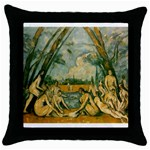 024 Throw Pillow Case (Black)