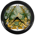 024 Wall Clock (Black)