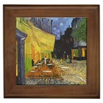Vincent_Willem_van_Gogh_015 Framed Tile