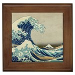 Great_Wave_off_Kanagawa2 -2 Framed Tile