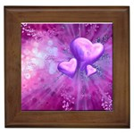 Purple_Heart Framed Tile