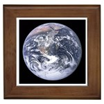 The_Earth_seen_from_Apollo_17 Framed Tile