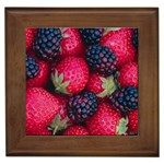 Strawberry 399 Framed Tile