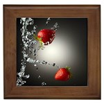Strawberry 395 Framed Tile