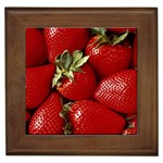 Strawberry 463 Framed Tile