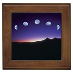 Phases-of-the-Moon Framed Tile