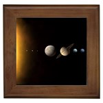 Parade-of-the-Planets Framed Tile