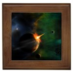 Space Art Wallpapers 03 Framed Tile