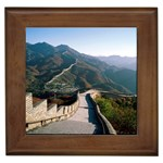 The Great Wall of China Framed Tile