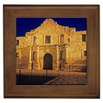 The Alamo, San Antonio, Texas Framed Tile