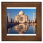Taj Mahal, Agra, India Framed Tile