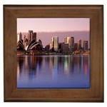 Sydney Reflections, Australia Framed Tile