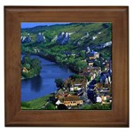 River Seine, France Framed Tile