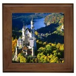 Neuschwanstein Castle, Bavaria, Germany Framed Tile